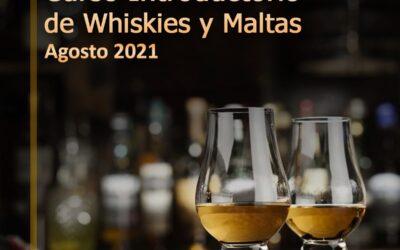 CURSO INTRODUCTORIO DE WHISKIES Y MALTAS